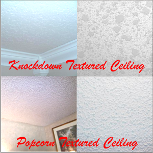 Textured Ceilings Texture Removal