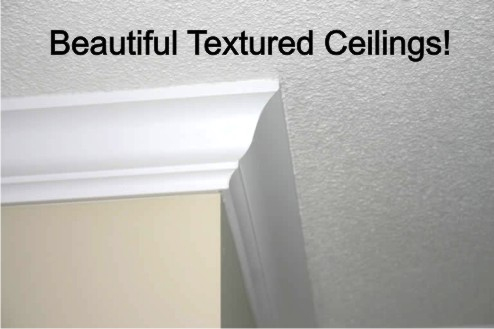 commercial painting and textured ceilings